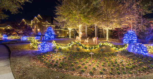 Lights Over Atlanta will make your property shine during the holidays